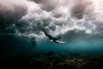 Soneva in Aqua Maldives surfing