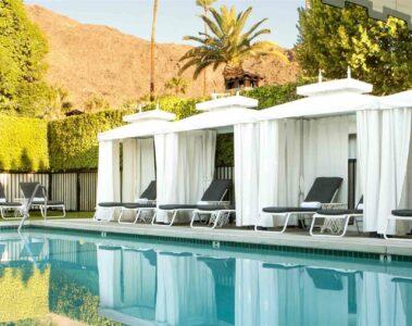 Avalon Hotel & Bungalows Palm Springs pool