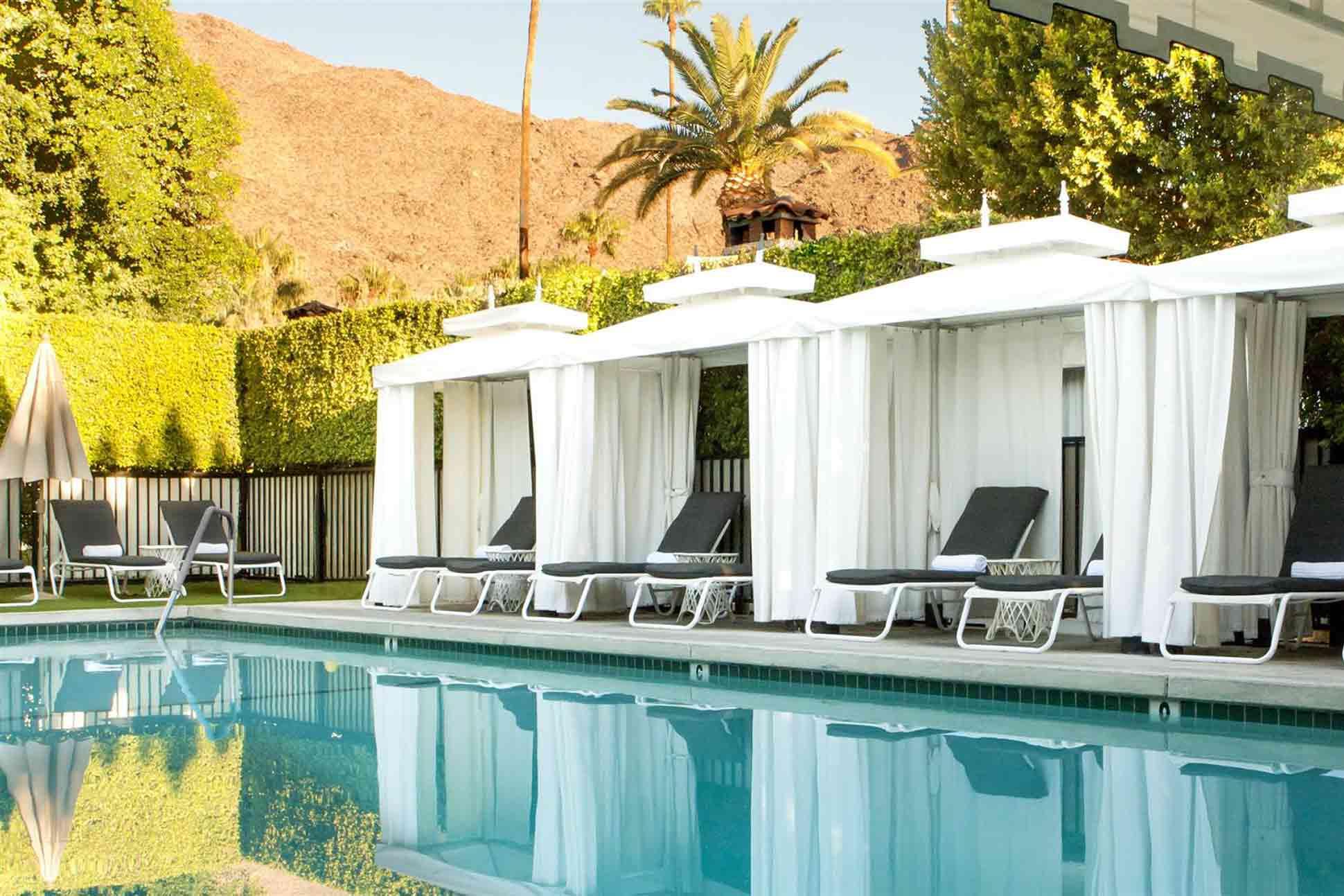 Avalon Hotel & Bungalows <br> Palm Springs, California, USA