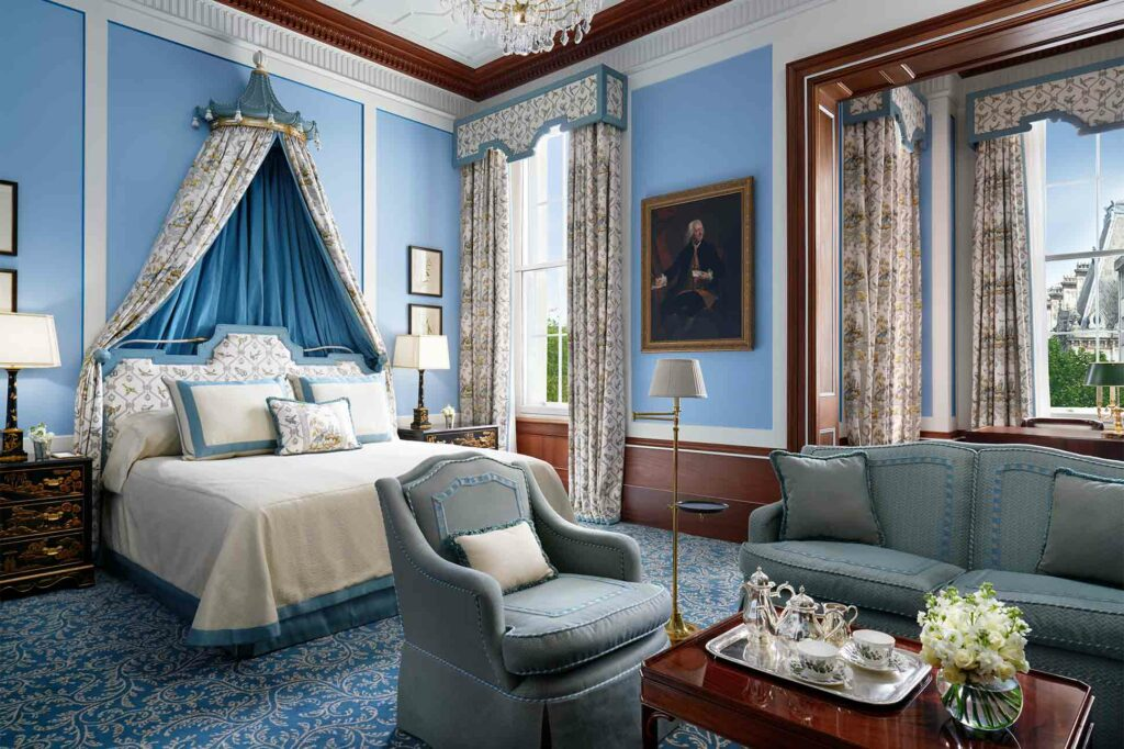 Bedroom at The Lanesborough, London, United Kingdom