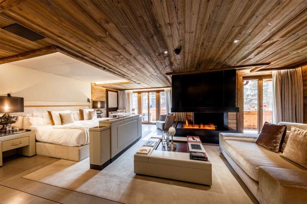 Signature Suite at Ultima Gstaad, Gstaad, Switzerland