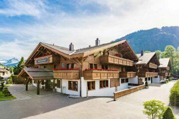Exterior view of Ultima Gstaad, Gstaad, Switzerland