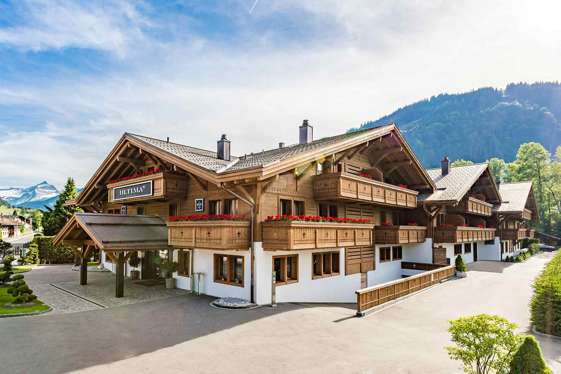 Ultima Gstaad <br> Gstaad, Switzerland